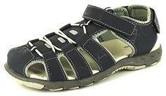Neu Jungen/Kinder Marineblau/Grau Verstellbar Klettverschluss Sommer Sandalen - marineblau/grau - UK GRÖßEN 13-5 - Jungen', Marineblau/Grau, 32 - http://on-line-kaufen.de/rockstorm/32-eu-neu-jungen-kinder-marineblau-grau-sommer-uk-5