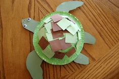 turtle arts and crafts for preschoolers - Google Search