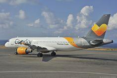 "Condor Airbus A320-200 - cn 1416 D-AICK First Flight Jan 2001 Age 14.7 Years Test registration F-WWDZ Engines 2x CFM56-5 Heraklion International Airport, ""Nikos Kazantzakis"" (IATA: HER, ICAO: LGIR)"