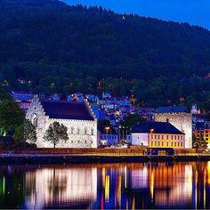 Bergen by @visitbergen on Instagram