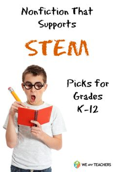 Nonfiction That Supports STEM #weareteachers