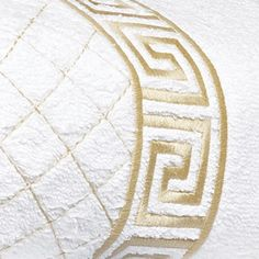 Classic Greek key embroidery accents the legendary beauty of deep, plush, 100% Turkish terry cotton, 600 grams per square meter. Fresh arrivals...