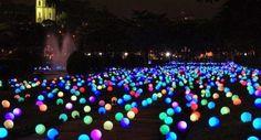 Glow in the dark stick in een ballon