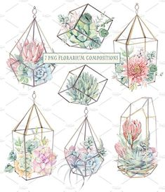 "I""ve been in love with succulents long ago. I know that you also love succulents:) My new set is Watercolor Illustration, Graphic Illustration, Watercolor Art, Watercolor Succulents, Plant Drawing, Wedding Card Design, Arte Floral, Bullet Journal Inspiration, Animes Wallpapers"