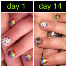 Junior Jamberry Nail Wraps hold up awesome for my 3 year old!! This is Shine Bright! http://jencallander.jamberrynails.net
