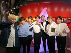 """September 13 2018 """"[ BTS on America's Got Talent! We're sending love to US ARMYs who sent us big cheers on a stage we stood on for the time. It was nice meeting the audience that got the time to have a good conversation with us at the Grammy Museum Jhope, Bts Bangtan Boy, Taehyung, Jung Kook, K Pop, Hoseok, Seokjin, Park Ji Min, America's Got Talent"""