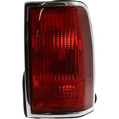 1990-1997 Lincoln Town Car Tail Lamp RH, Lens And Housing, W/ Emblem