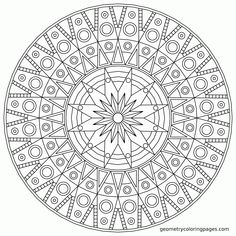 Coloring Pages Mandala Free - High Quality Coloring Pages