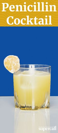 It may not be quite as effective as its namesake antibiotic, but this cocktail is certainly curative, especially after a long day of work. The recipe, a blend of ginger, honey, lemon and scotch, is a spicy take on a classic Whiskey Sour.