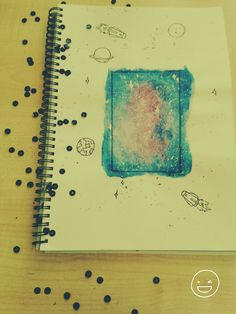 Galaxy drawings