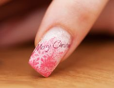 Merry Christmas Nails http://www.funkytrend.com/christmas-nail-art/