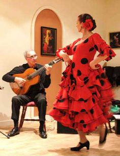 The teacher of Flamenco - Rosina Himing - was born of dancing parents. She had her first ballet class at 4. By the age of 14 she danced the lead part in a ...