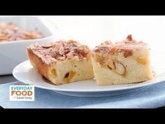 Fresh Peach Buckle Recipe - Everyday Food with Sarah Carey - YouTube
