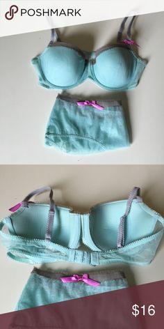 9a8ed363dc8 Gap Body Balconnet Bra Panty Set Brand NWT Gap Body Underwire Balconnet Bra    Panty