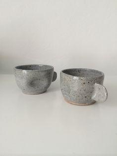 Espresso cups by mud + stone Espresso Cups, Sugar Bowl, Bowl Set, Mud, Stone, Rocks, 1st Birthdays, Stones