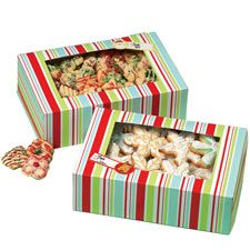 Holiday Candy & Cookie Boxes for all your treats!