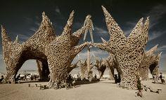 Una dicha colectiva de grandes expresiones artísticas, así describo el Burning Man.