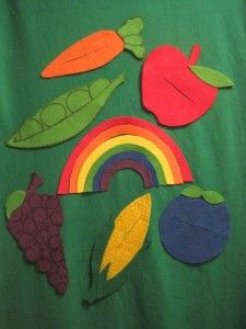 Love this fun flannel from Stortyime ABC's. When I saw it, I knew it was a perfect activity to give my Lunch pieces extra mileage. And, like almost every library, we've got some of those cauldrons from various Halloween and Harry Potter programs. So all I needed was the rainbow pieces and, voilà!, the story …