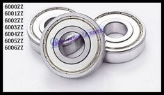 6pcs/Lot 6006ZZ 6006 ZZ 30x55x13mm Mini Ball Bearing Miniature Bearing Deep Groove Ball Bearing Brand New #Affiliate