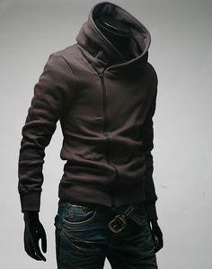 Snek Outfitters | Biker Style Side-zip Hoodie | $29.95. This is HOT!