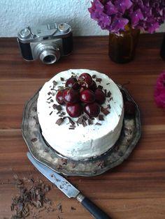 Cherry cake  midnightdessert blog