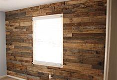 DIY Pallete Accent Wall #DIY, #Decor