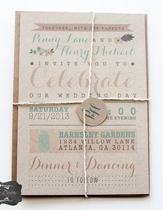 Adorable invite. ways to change font and format