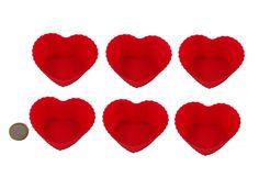 6 Stück Silikon Herz Formen Backen Cupcake Form Törtchen Muffin Pralinenform Eiswürfelform: Amazon.de: Bürobedarf & Schreibwaren