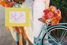 pink, orange, yellow bouquet with dusty miller - Malibu Beach Wedding Inspiration Event Signage, Event Venues, Bright Weddings, Wedding Show Booth, Sunset Restaurant, Yellow Bouquets, Our Wedding, Wedding Ideas, Malibu Beaches