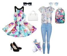 """""""Untitled #4"""" by frrizo on Polyvore featuring Michael Kors, New Look and adidas"""