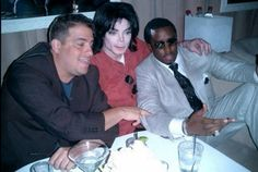 Michael Jackson, Brett Ratner, and Diddy/Sean Combs
