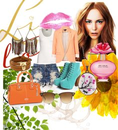 """""""Chasing Daisies"""" by theorangefantasy on Polyvore"""