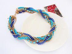 Women Jewelry Pendant Chain Crystal Choker Chunky Collar Statement Bib Necklace