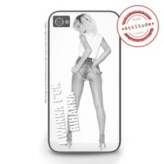 iPhone 4/4S iPhone 5/5S/5C Rihanna Fck iPhone by AttitudeCases, £10.99