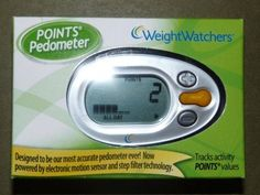Weight Watchers Pedometer with Points...