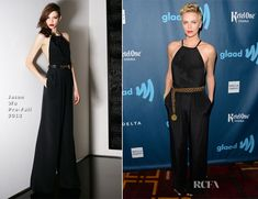 Charlize Theron In Jason Wu – 24th Annual GLAAD Media Awards