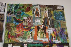 MORRISONS ACADEMY HIGHER DESIGN RESEARCH Textiles Sketchbook, Sketchbook Ideas, Mood Boards, Art Boards, Ed Design, Fidget Quilt, Morrisons, Design Research, Higher Design