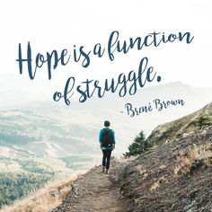 Hope is a function o