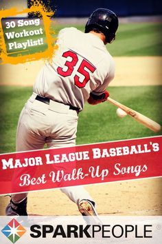 Hear the top 30 walk-up songs from baseball's superstars. These songs can inspire you to workout harder or get back in the game!