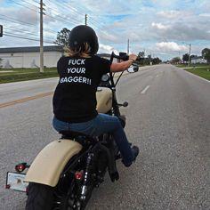 Real Motorcycle Women - bobbers_n_choppers