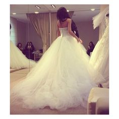 J'ADORE ❤ liked on Polyvore featuring instagram, wedding, dresses, pictures and fotos