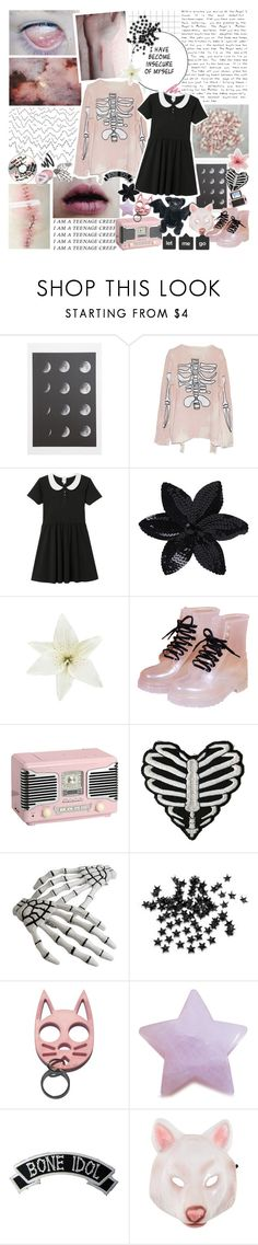 """""""mirror mirror on the wall, will there be glory if i fall;"""" by maggotpunk ❤ liked on Polyvore featuring GET LOST, Cotton Candy, Monki, Luli, ASOS, Clips, Hot Topic, INC International Concepts, Kreepsville 666 and Yves Saint Laurent"""