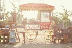 Lovely traditional style Popcorn Cart