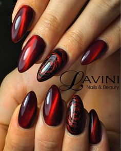 Wonderful Ombre Nail Designs For Your Inspiration - Nail Designs Red Chrome Nails, Red Nails, Yellow Nails, Pink Yellow, Ombre Nail Designs, Nail Art Designs, Elegant Nail Designs, Nails Design, Cute Nails