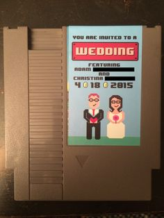 NES Wedding Invite