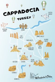 5 UNBELIEVABLE Things To Do In Cappadocia In 2020 - - From top cave hotels to stay in, to exploring the fairy chimneys, and hot air balloon flights, there are so many amazing things to do in Cappadocia, Turkey. Airport Turkey, Turkey Destinations, Travel Destinations, Stuff To Do, Things To Do, Cave Hotel, Cappadocia Turkey, Cappadocia Balloon, Istanbul Turkey