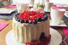 Blaubeer Buttermilch Torte Rezept: HIER