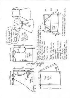 Sewing Pattern Instructions