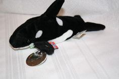 """2000 Coca Cola International Collection-Tides the Killer Whale 8"""" Norway $6.50"""