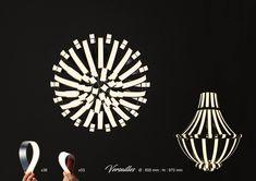 """Versailles"" OLED Chandelier by Alexandre Boucher at Coroflot.com"